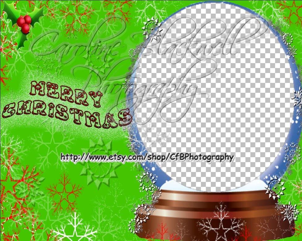 Lustige Weihnachten digitalen Bilderrahmen Png-format