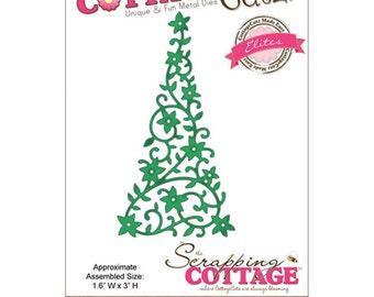 "CottageCutz Elites Die 1.3/""X1.9/"" ~ Harvest Oak Leaf CCE076  RETIRED!"