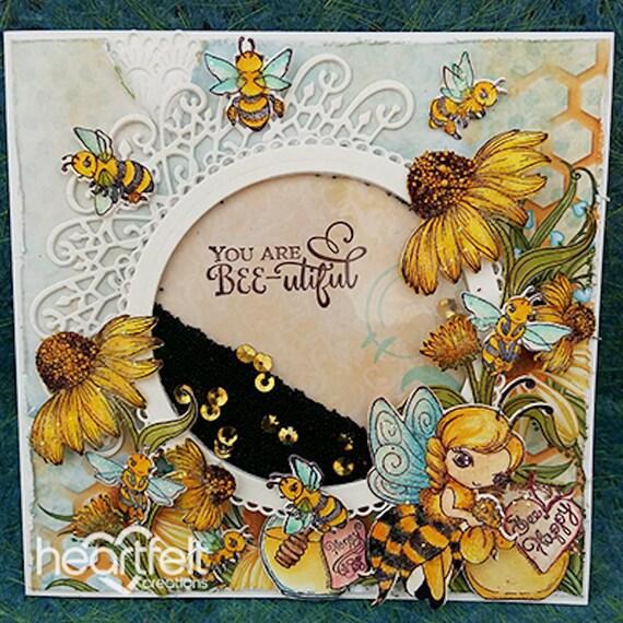 Lot Lot Lot ensemble timbres + matrices sincères créations ~ doux comme miel Collection choisir un Lot ensemble ~ ffec80