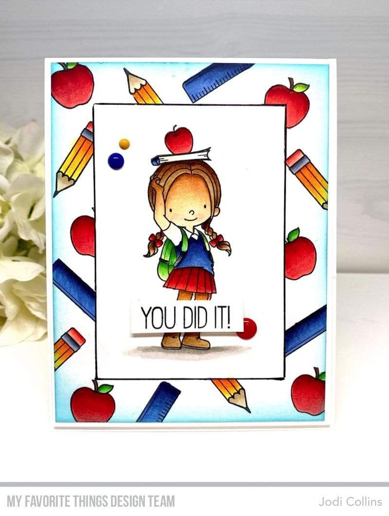 Lot Set My Favorite Things Die Namics Die+BB Stamp Set Class Act MFT1750+BB102