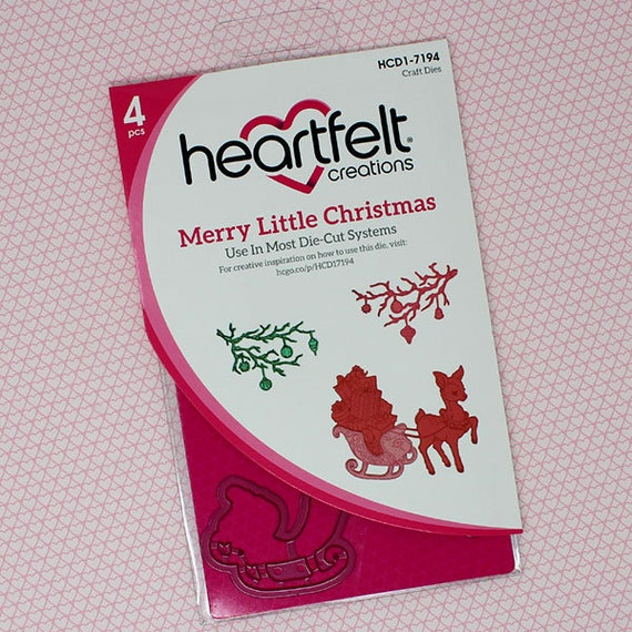 Lot Set Heartfelt Creations Dies+Stamps ~ Merry and Bright Collection CHOOSE One Lot Set ~