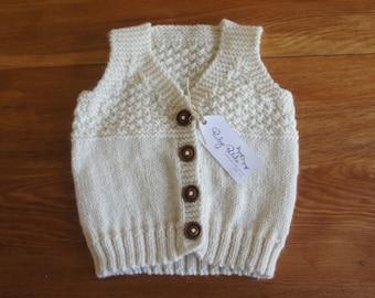 2dfe6b116 Wool baby vest