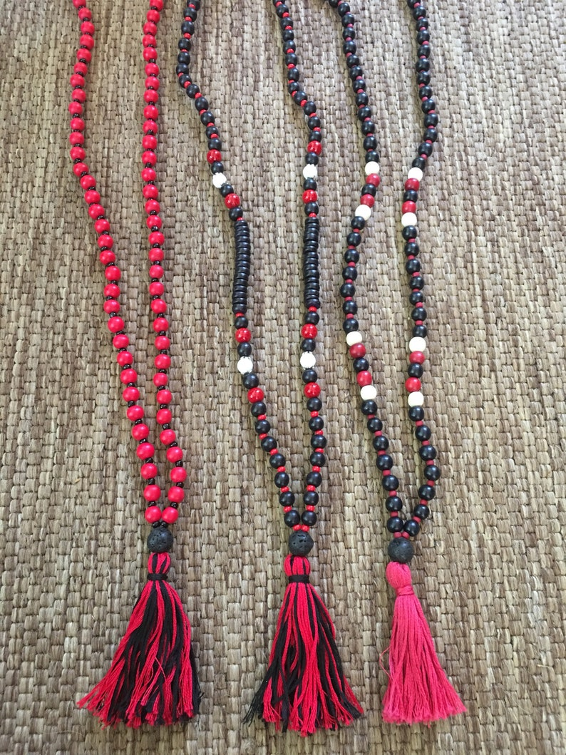 beaded anklets Game day accessories red /& gray mens anklet women/'s anklet bohemian custom yoga beaded anklet unisex stretch anklet football