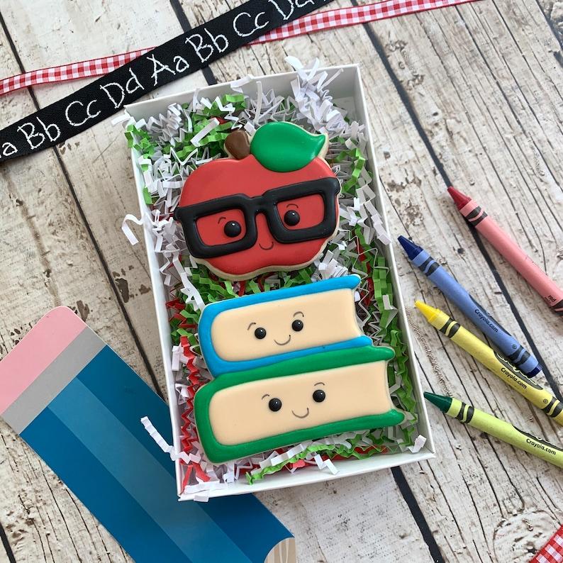 Back to School Cookies  Teacher Cookies  Teacher image 0