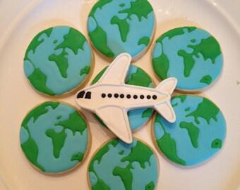 Travel Cookies-One Dozen