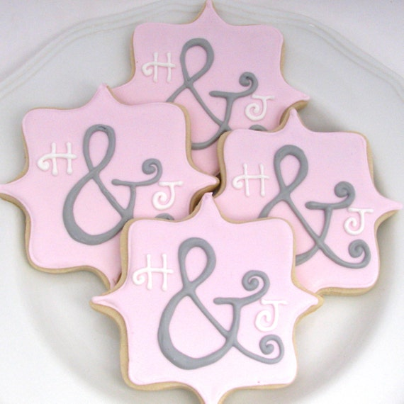 Personalized Bridal Shower Cookies-Also great for a Wedding | Etsy