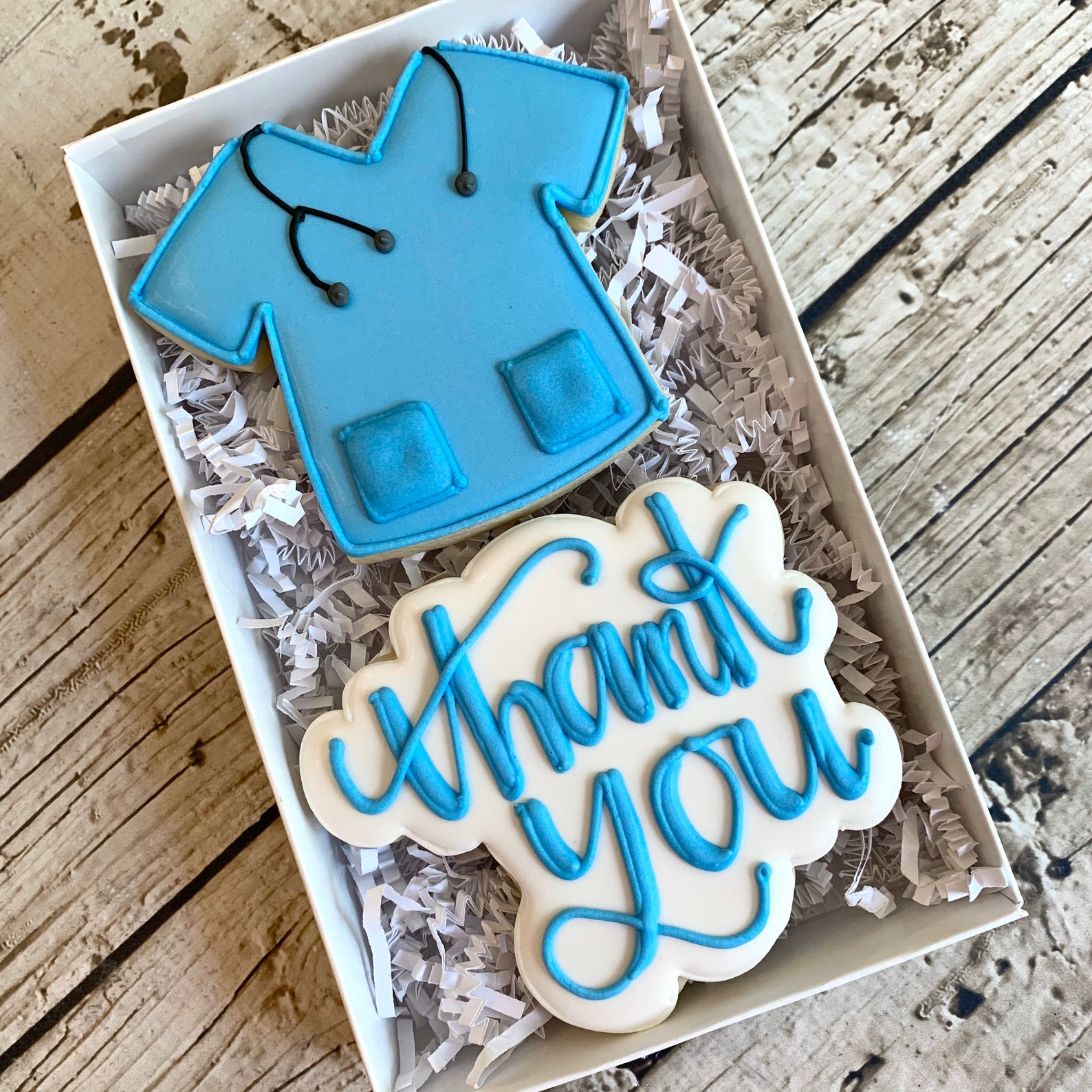 Healthcare Medical Workers Thank You Cookies
