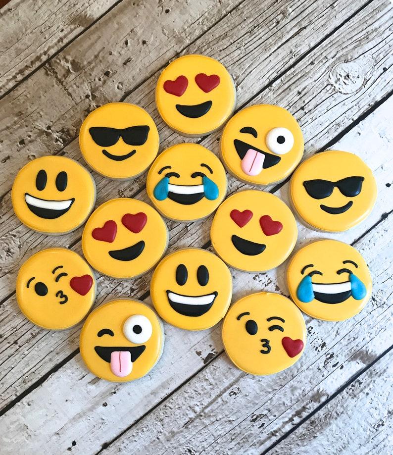 Emoji Cookies Teen Gift Ideas Birthday