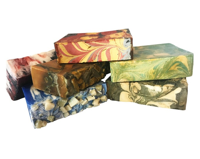 6 Bars of Game of Thrones Inspired Soap-Handmade Soap Gift Set