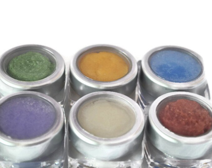 Handmade Sugar Body Scrub Sample 6 Pack: Lavender, Goat's Milk & Oatmeal, Lemongrass, Geranium, Pink Grapefruit, Lime-FREE SHIPPING