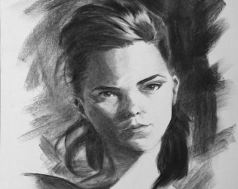 Charcoal Portrait III