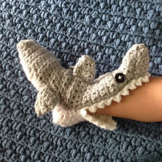 Crochet Hai Pantoffel Socken Hai Socken Häkeln Socken Etsy