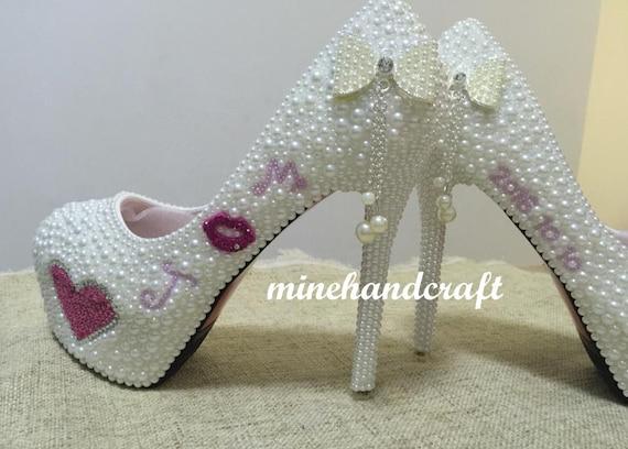 f80da72e178 Ivory Women Pumps Classic High Heels High Platform Lady Heels