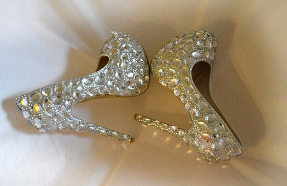 b0c852f50c6 Xue Made Silver Sparkle Women Shoes Pumps Clean Shiny