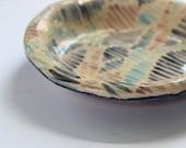 Small Ceramic Blue and Pi...
