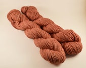 Hand Dyed Organic Cotton Yarn - Worsted weight - SUN SOAKED PUEBLO