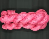 Hand Dyed Yarn | Swims Upstream | Organic Cotton Yarn | Worsted Weight & Machine Washable Yarn | approx. 100 grams per hank