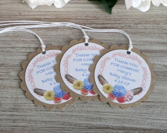 Baby Shower Favor Tags Baby Shower Party Favor Tag Baby Etsy