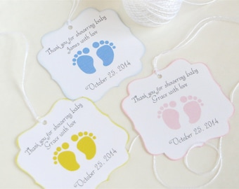 Baby Shower Gift Tag Etsy