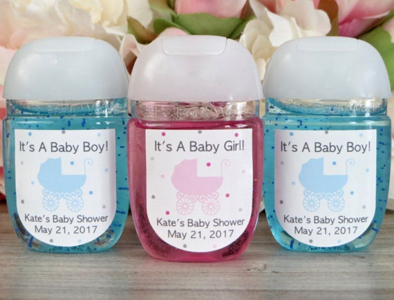 Baby Carriage Baby Shower Party Favor Stroller Hand Sanitizer Etsy