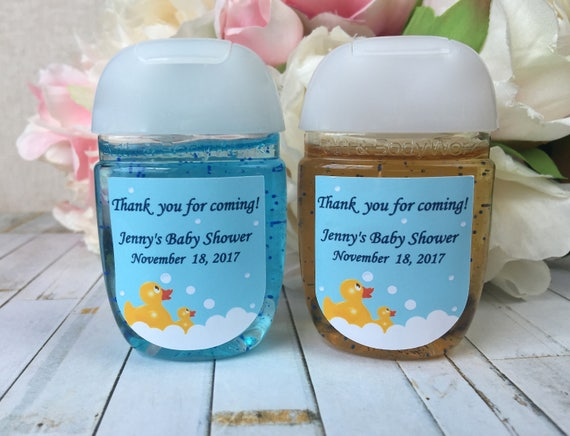 Rubber Ducky Baby Shower Favor Labels Yellow Duck Baby Shower Etsy