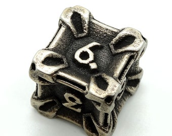 Steel D6 by Butler Dice - 6 Sided
