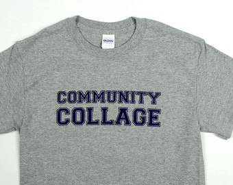 Community Collage College T-Shirt Back To School by Crazed Lemming