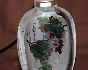 Chinese Bottle - Grapevine with John15:5