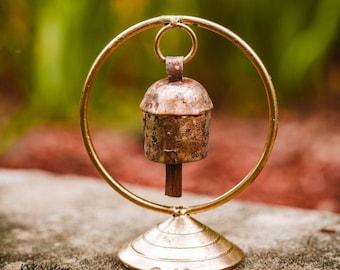 Zen Bell on Stand - Bells - Fair Trade - Rustic Bells
