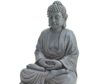 Meditating Buddha Statue - Buddha - Buddha Sculpture - Buddha Statue - Home Decor - Home Decorating - Spirituality - Meditation