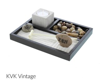 Tabletop Zen Garden - Japanese Garden - Zen Decor