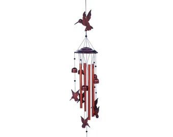 Flock of Hummingbirds Wind Chimes - Garden Decoration - Indoor Wind Chimes - Animal Wind Chime