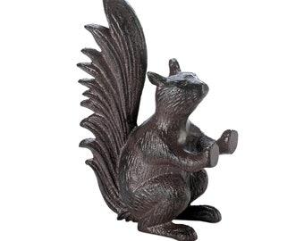 Cast Iron Squirrel Door Stop - Door-Stopper - Animal Door Stopper - Home Decor