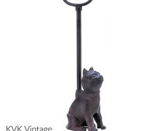 Cast Iron Cat Door Stop With Handle - Door-Stopper - Animal Door Stopper