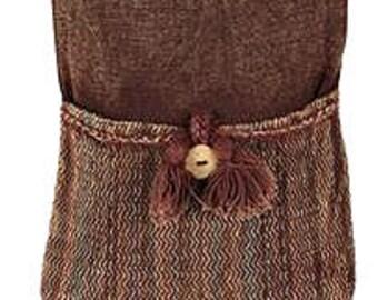 Brown Fringe Crossbody Bag - Shoulder Bags – Fair Trade Bags
