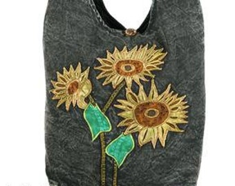Sun Flower Crossbody Bag - Sling Bags - Fair Trade