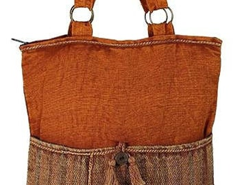 Autumn Tassel Hobo Bag - Hobo Bags - Fair Trade