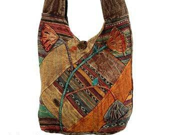 Patchwork Cross body Bag - Crossbody Bags - Fair Trade Bags - Bohemian Handbags