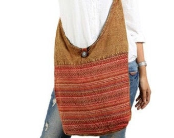 XO Pattern Crossbody Sling Bag - Handbags - Sling Bag - Crossbody Bags - Cross Body Sling Bag - Fair Trade - Fair Trade Sling Bags
