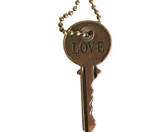 Word Key Necklaces