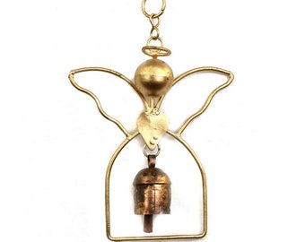 Angel Bell Chime - Home Décor - Ornaments - Fair Trade