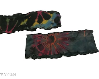 Thai Tie Dye Headband -  Wide Headbands - Fair Trade Headbands - BOHO Headbands