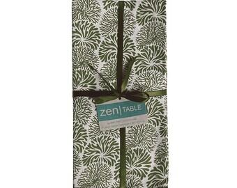 Avocado Tumbleweed Napkins (Set of 4) - Fair Trade - Fabric Napkins - Cotton Napkins - Kitchen - Dining