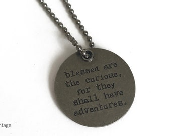Token Quote Necklaces
