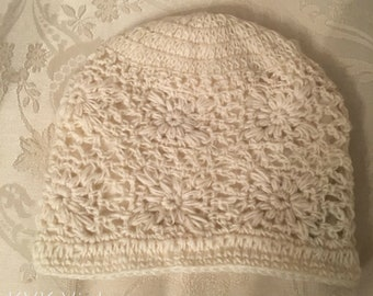 Cream Wool Knit Cap - Knitted Hats - Wool Beanies - Fair Trade