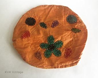 Orange Mixed Flowe Headband - Bohemian Headbands - Fair Trade Headbands - BOHO Headwraps