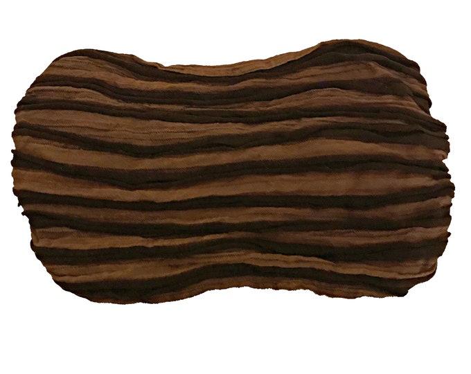 Featured listing image: Brown Stripe Razor Cut Headband -  Bohemian Headbands - Fair Trade Headbands - BOHO Headwraps