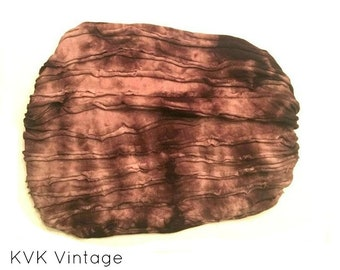 Brown Tie-Dye Headband - BOHO Headband - Hippie Headband - Wide Headband - Hair - Accessories - Fair Trade