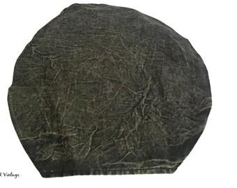 Black Stone Wash Headband - Boho Headband - Hippie Headband - Fair Trade
