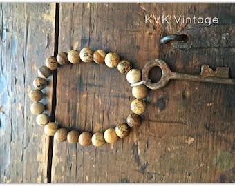 Beaded Key Bracelets